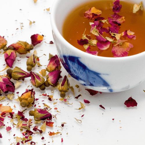 ifusion naturelle citronnelle et rose