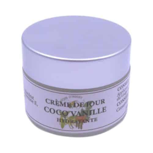 Crème de jour hydratante coco vanille