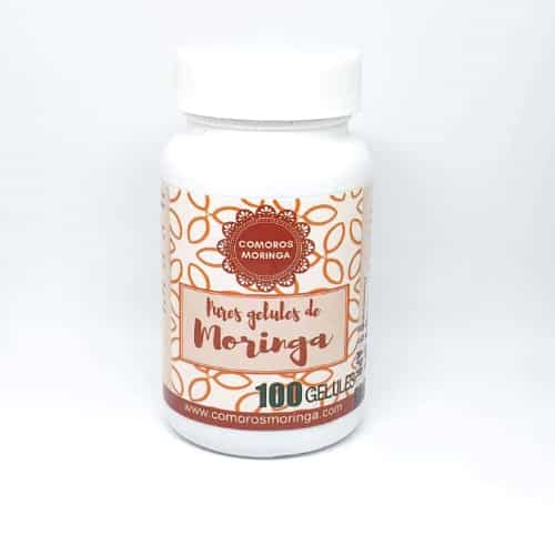 Poudre de Moringa en gélules | 3 mois de cure