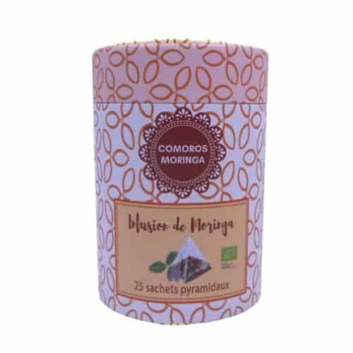 Infusion poudre de Moringa des Comores