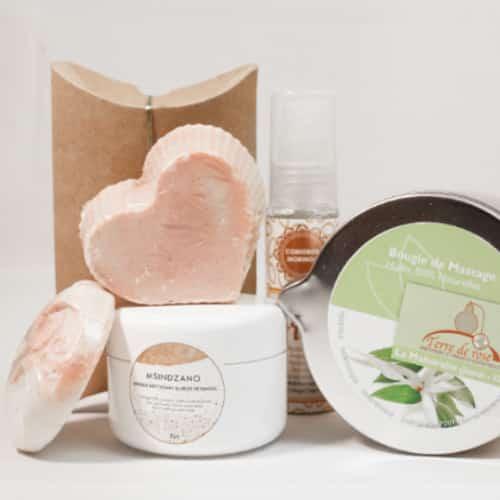 Bougie de massage jasmin ylang ylang : La Mahoraise