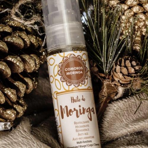 huile de moringa pure : peau & cheveux