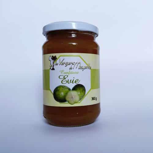 Confiture prune de cythère : sakoua les Vergers de Mayotte