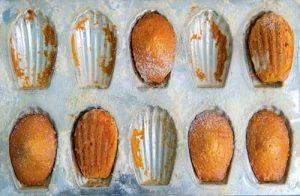 Madeleines de farine de manioc