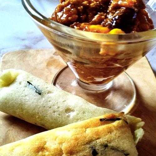 bwantam ou galettes de riz comorienne