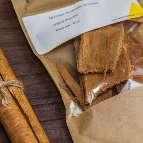 Cannelle de Mayotte : en morceaux